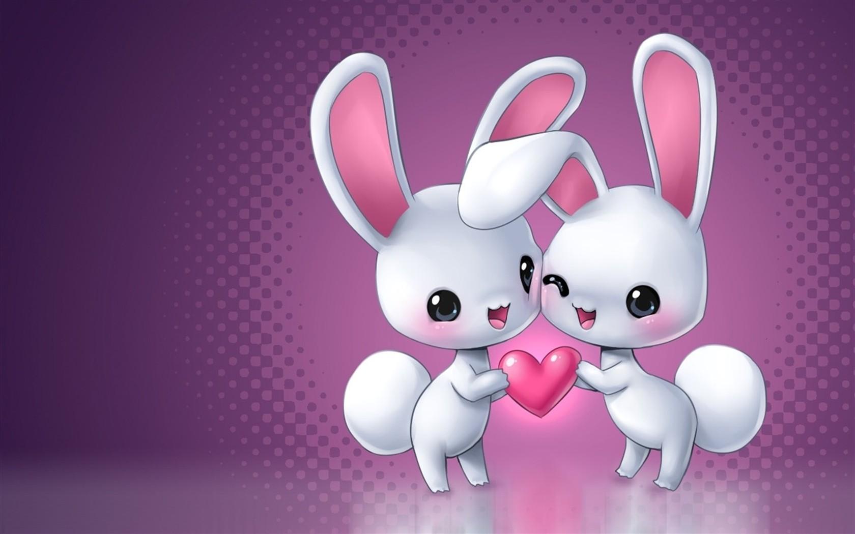 Hình ảnh con Thỏ hoạt hình đẹp và dễ thương