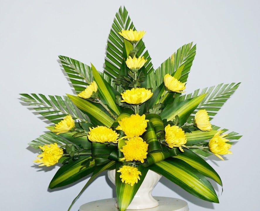 Hình ảnh mẫu hoa để bàn đẹp