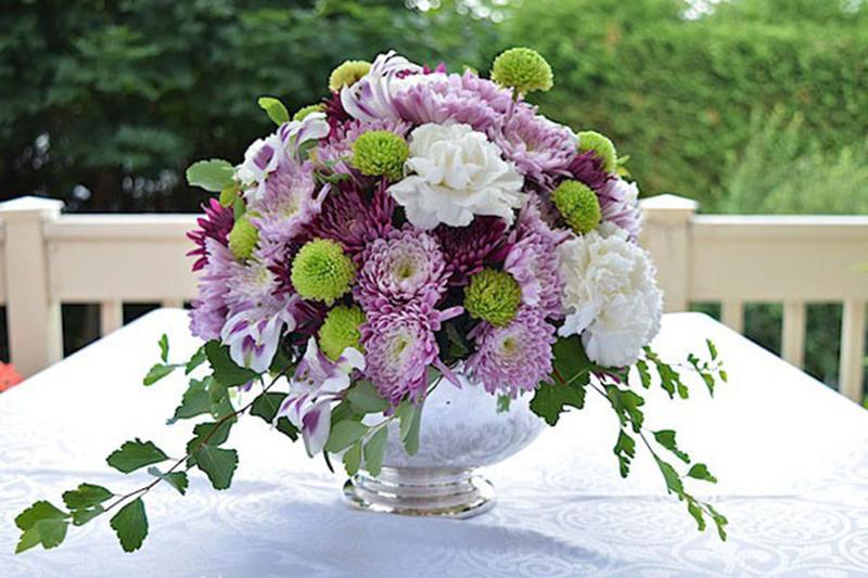 Mẫu hoa để bàn cực đẹp, dễ thương