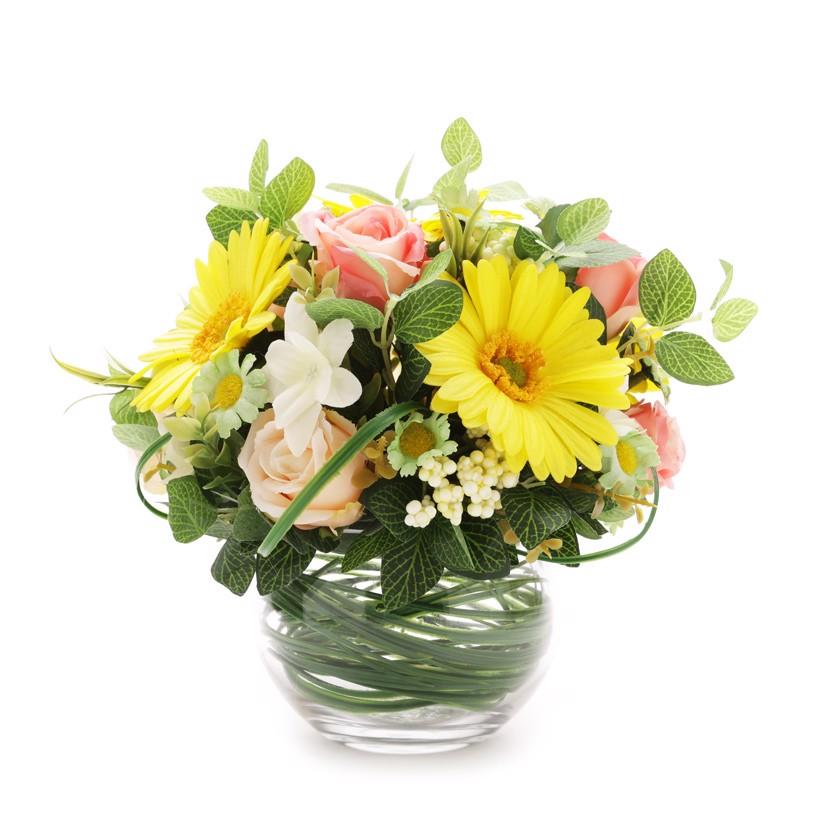 Mẫu hoa để bàn làm việc đẹp xinh