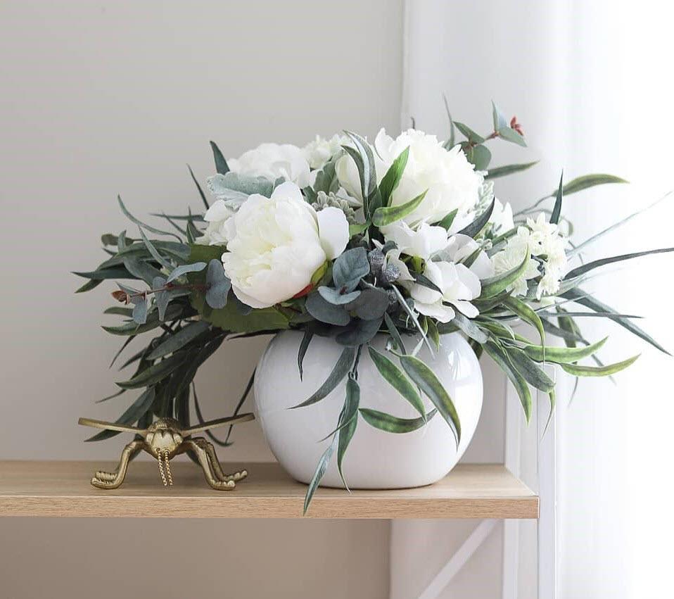 Những mẫu hoa để bàn đẹp nhất
