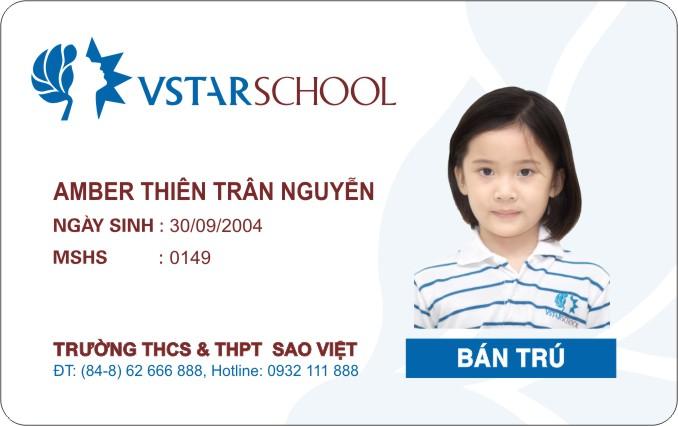 Thẻ học sinh độc đáo