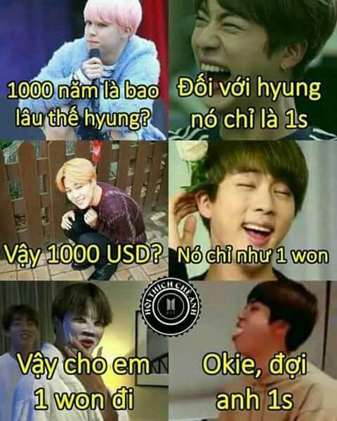 Ảnh dìm BTS xin 1000 USD trong 1s