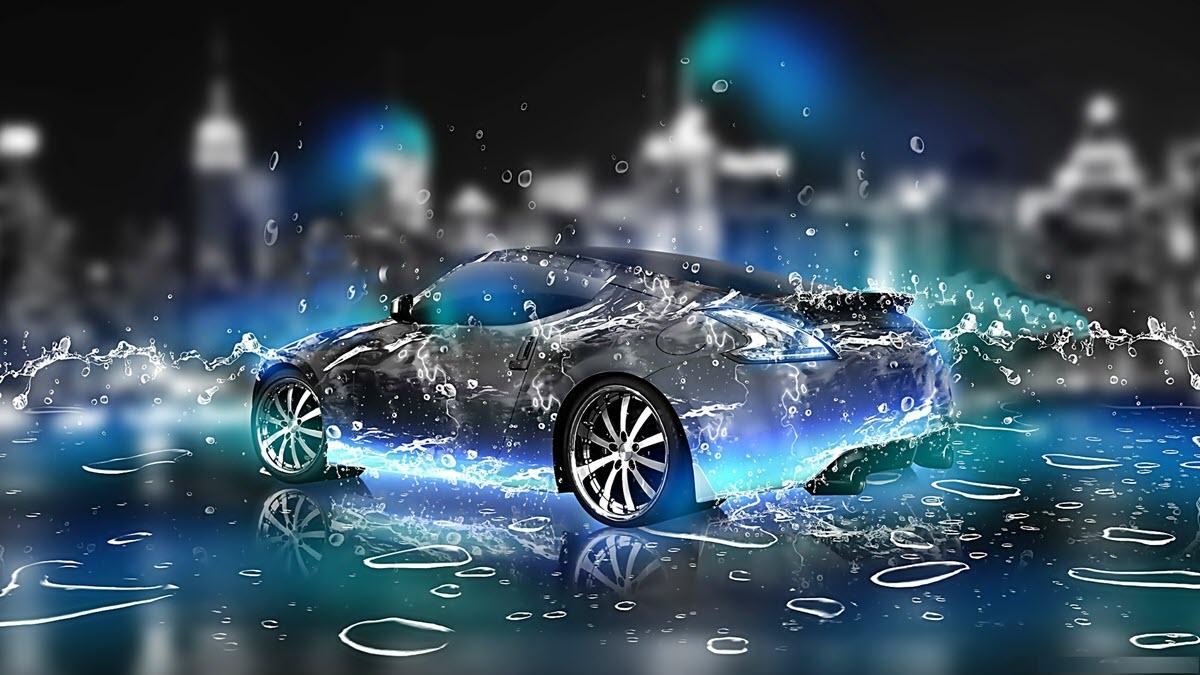 Hình 3d siêu xe đẹp và chất