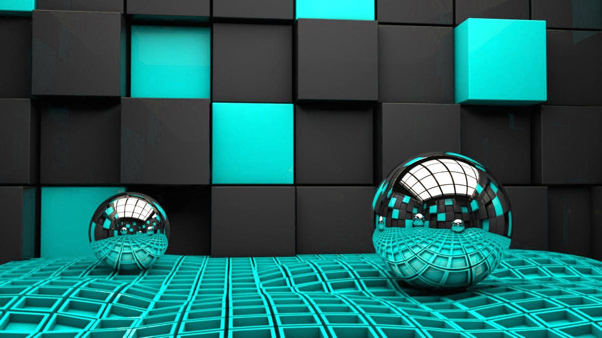 Hình ảnh 3d quả cầu