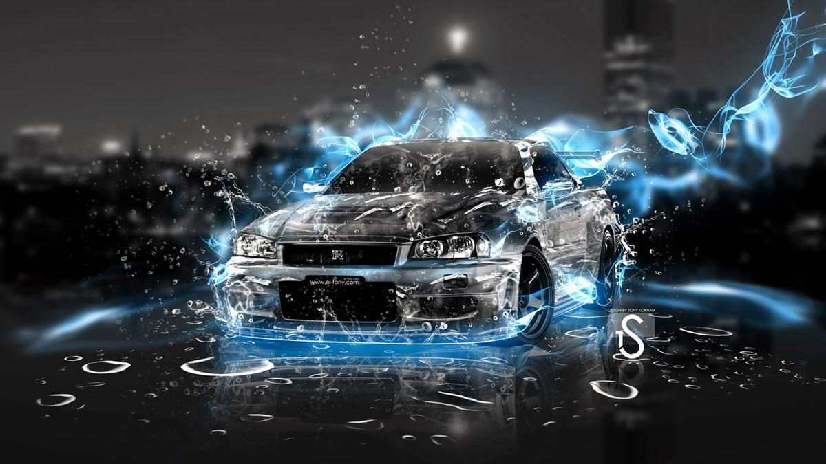 Hình ảnh 3d siêu xe