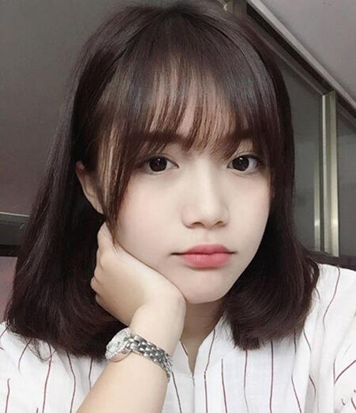 Hình ảnh con gái tóc ngắn
