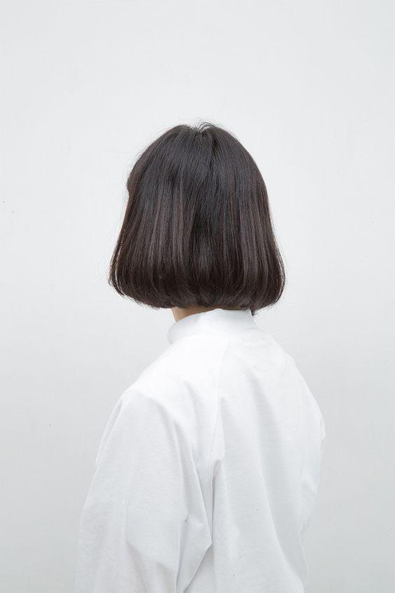 Hình ảnh mẫu tóc ngắn cho nữ sau lưng