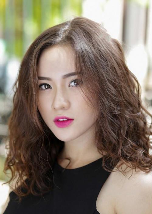 Kiểu tóc ngắn bồng bềnh cho nữ