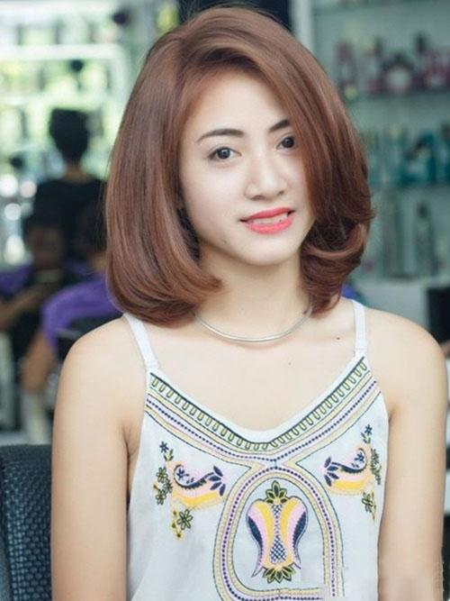 Kiểu tóc ngắn cho con gái