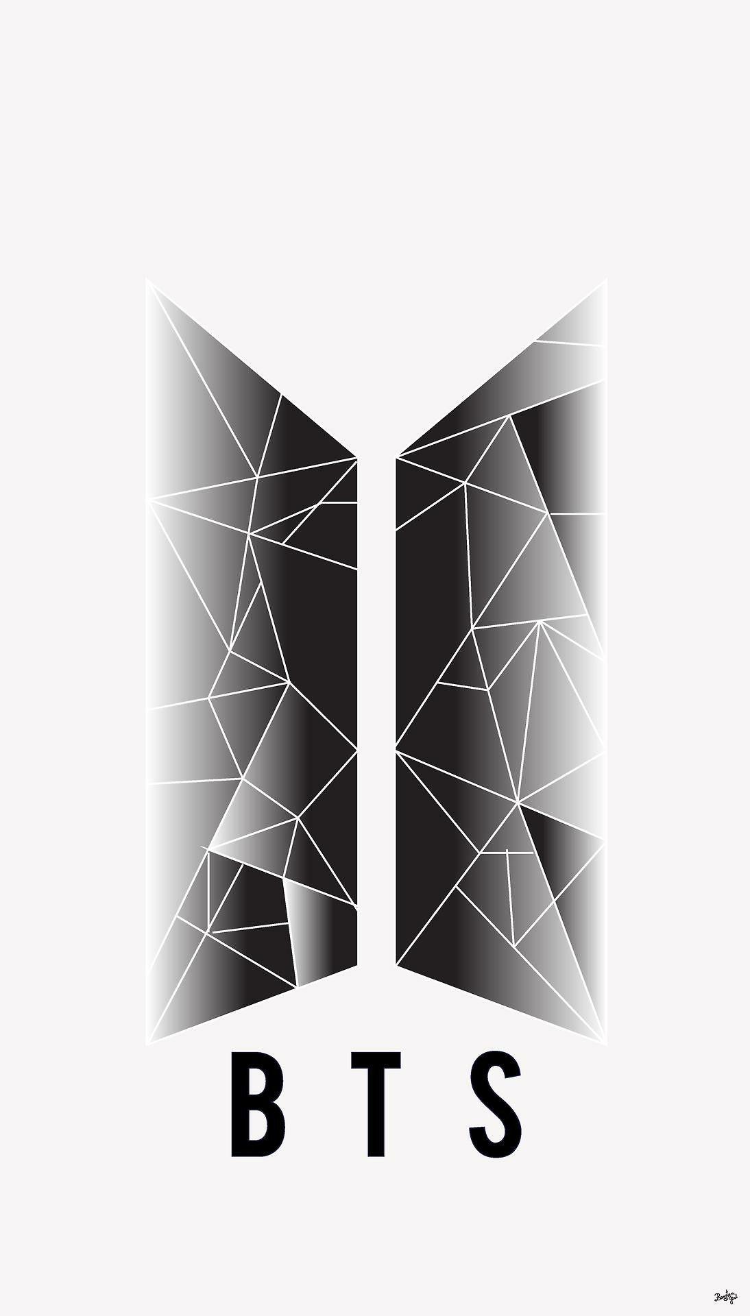 Ảnh BTS logo của nhóm nhạc