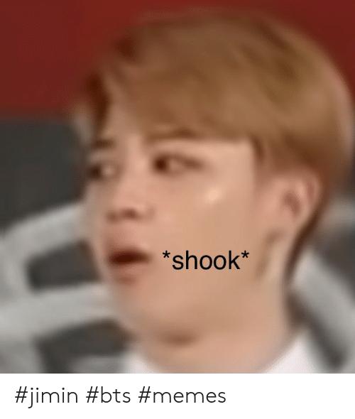 Ảnh chế BTS hài bựa- Shook