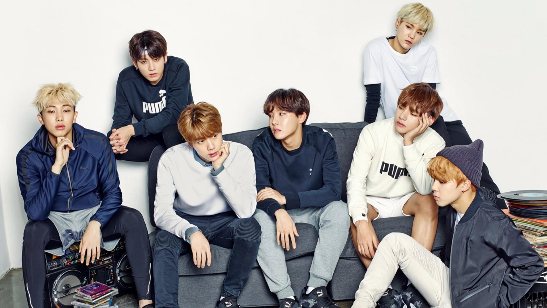 Ảnh HD dùng làm hình nền về nhóm nhạc BTS