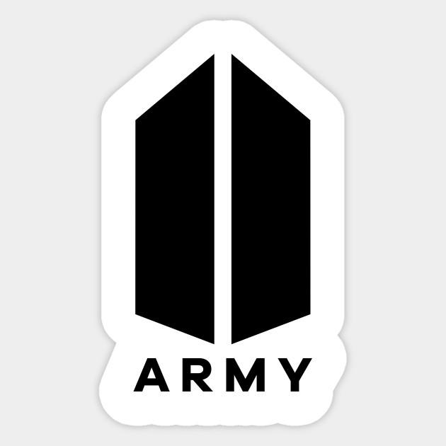 Ảnh logo BTS của nhóm fan ARMY