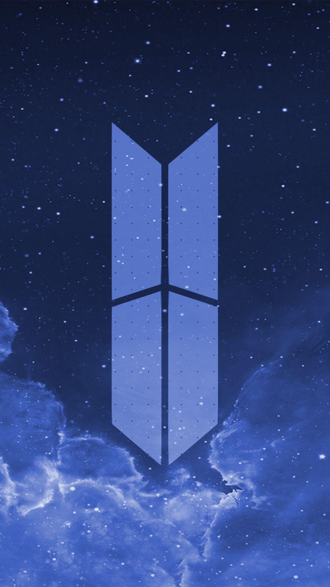 Ảnh logo BTS dành cho hình nền điền thoại