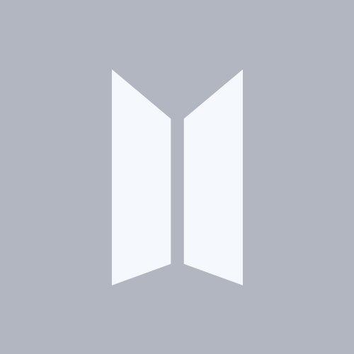 Ảnh logo BTS nền xám