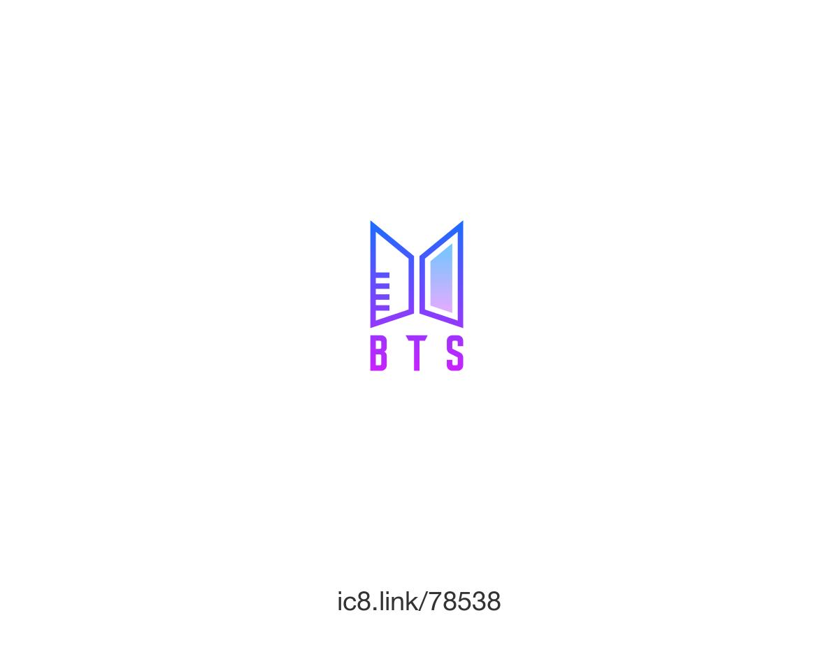 Ảnh logo BTS rất độc đáo