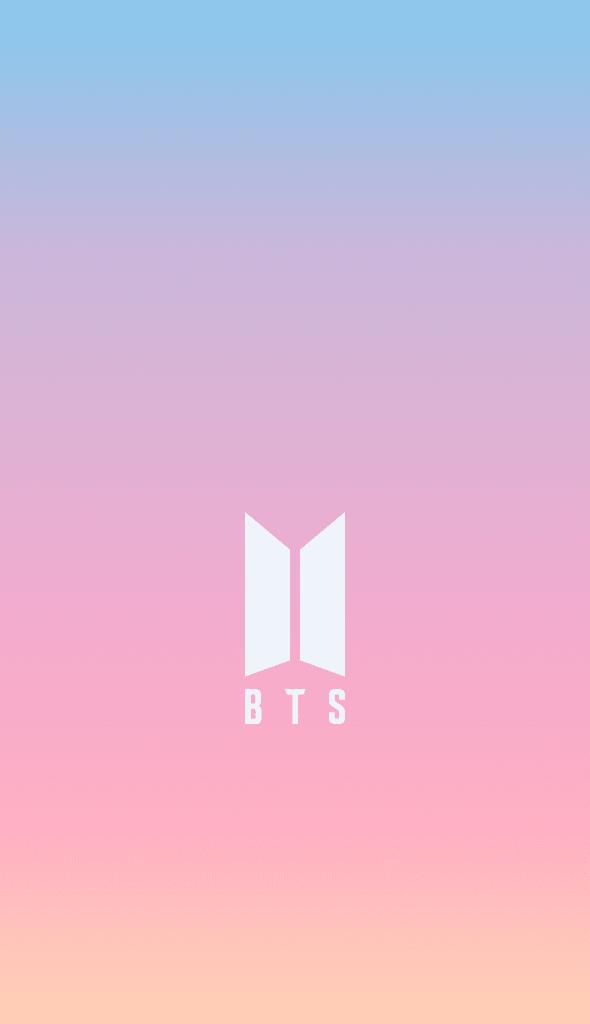 Ảnh logo BTS rất là đẹp