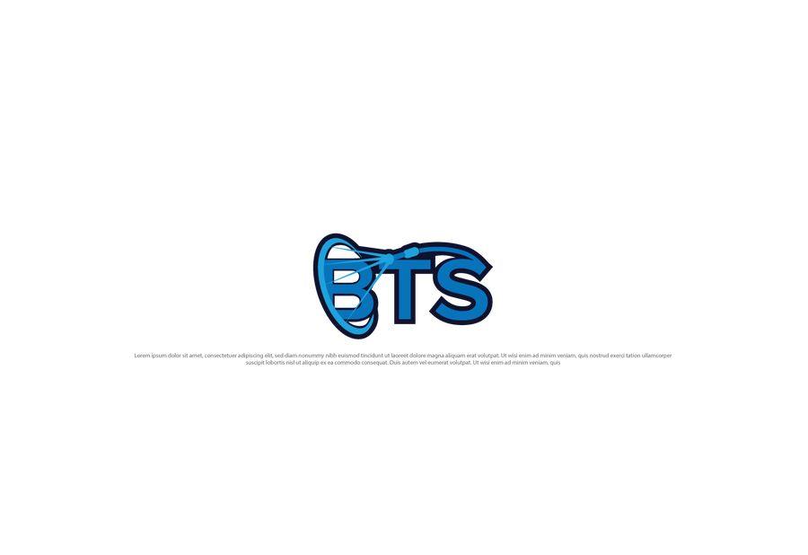 Ảnh logo dòng chữ BTS