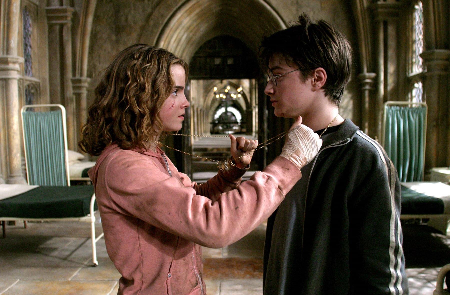 Hình ảnh harry porter với hermione