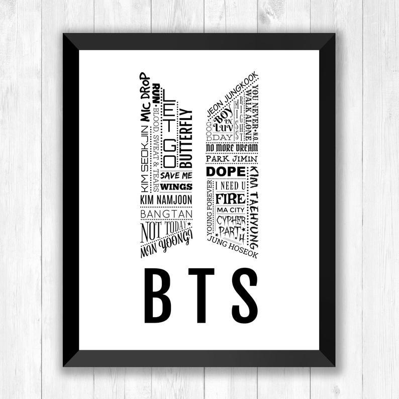 Logo của BTS rất đẹp