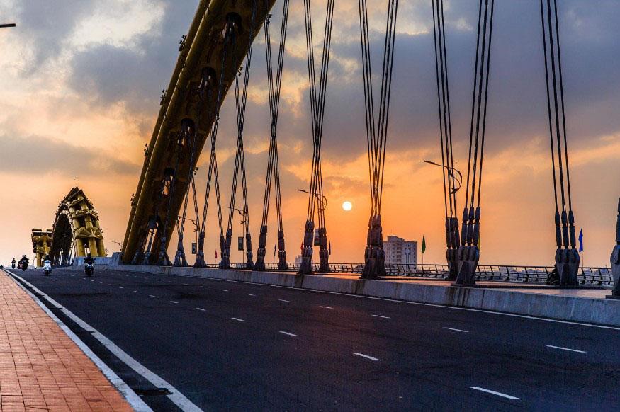 Ảnh đẹp trên cầu Rồng Đà nẵng