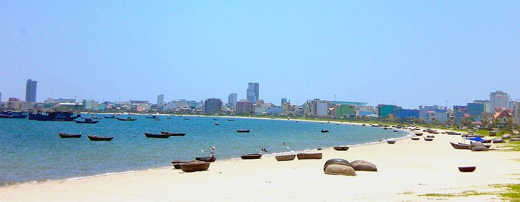Hình ảnh bãi biển ở Đà nẵng