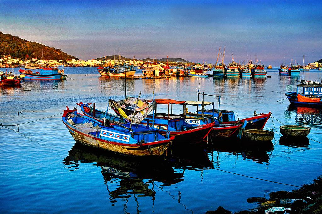 Hình ảnh bến thuyền ở Nha trang