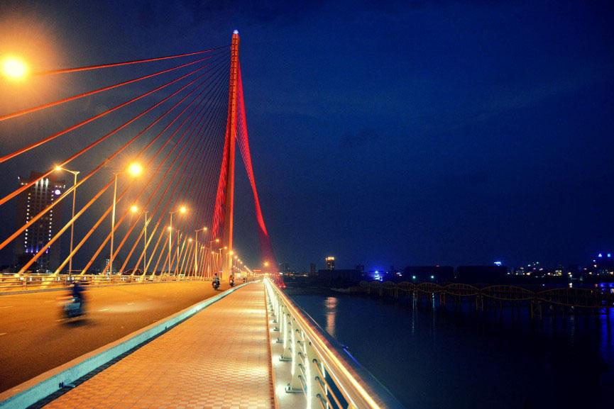Hình ảnh cầu trên sông Hàn Đà nẵng