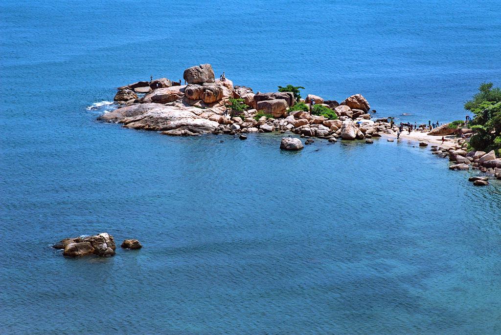 Hình ảnh đảo đá ở Nha trang