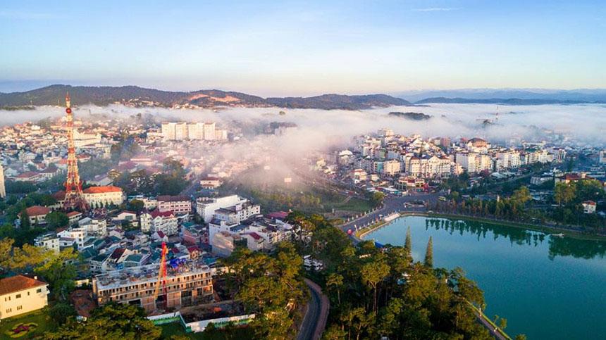 Hình ảnh đẹp ở thành phố Đà lạt