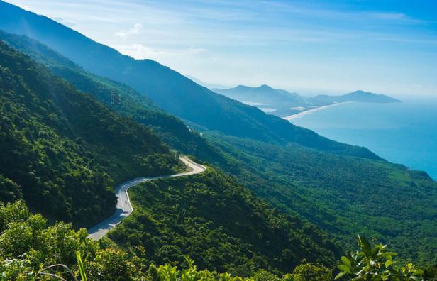 Hình ảnh đẹp trên đèo Hải vân ở Đà nẵng