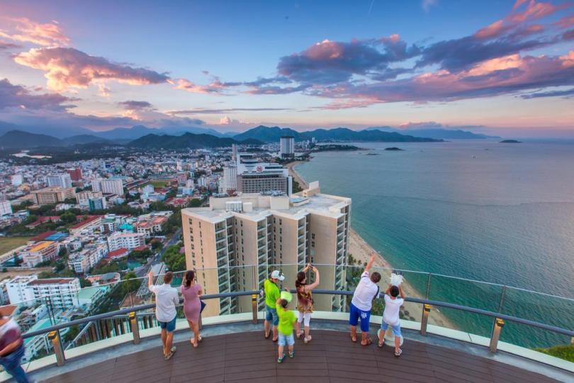 Hình ảnh khách sạn cao tầng ở Nha trang