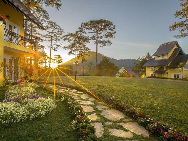 Hình ảnh khu nghỉ dưỡng Đà lạt