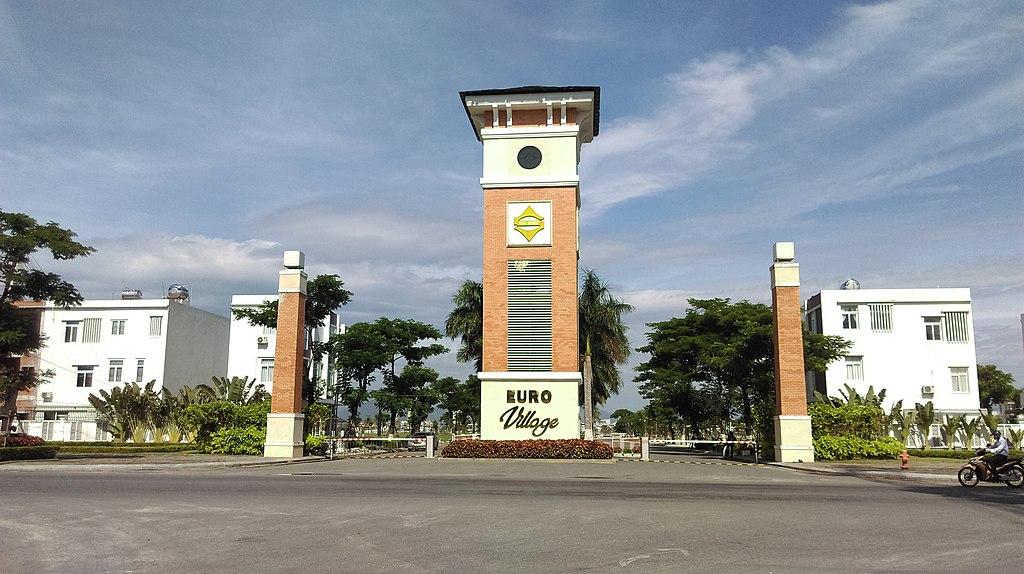 Hình ảnh làng châu Âu ở Đà nẵng