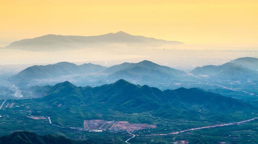 Hình ảnh núi rừng ở Đà nẵng