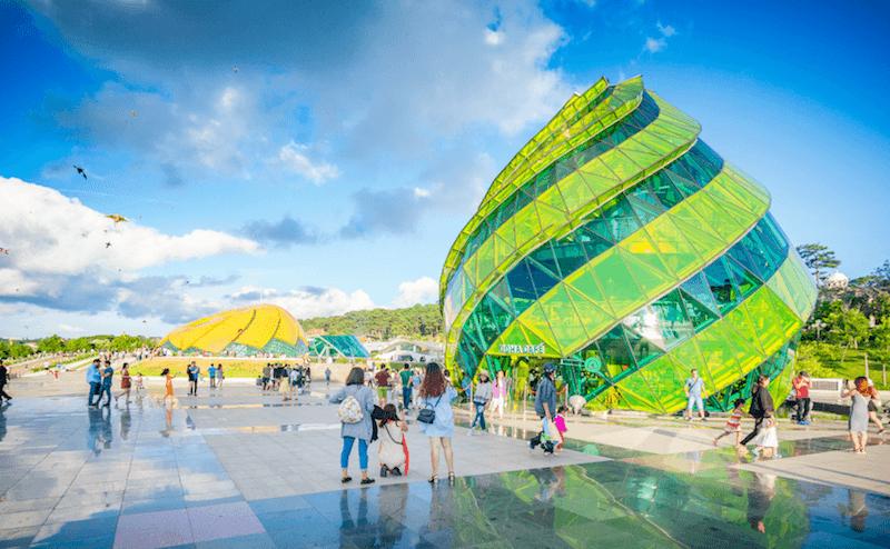 Hình ảnh quảng trường Lâm viên ở Đà lạt