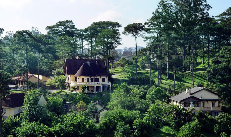 Hình ảnh resort đẹp ở Đà lạt