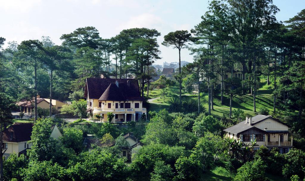 Hình ảnh resort ở Đà lạt