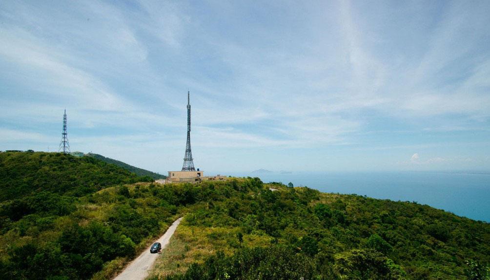Hình ảnh tháp truyền hình ở Đà nẵng