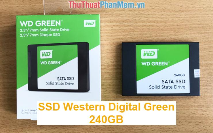 Đánh giá SSD Western Digital Green 240GB