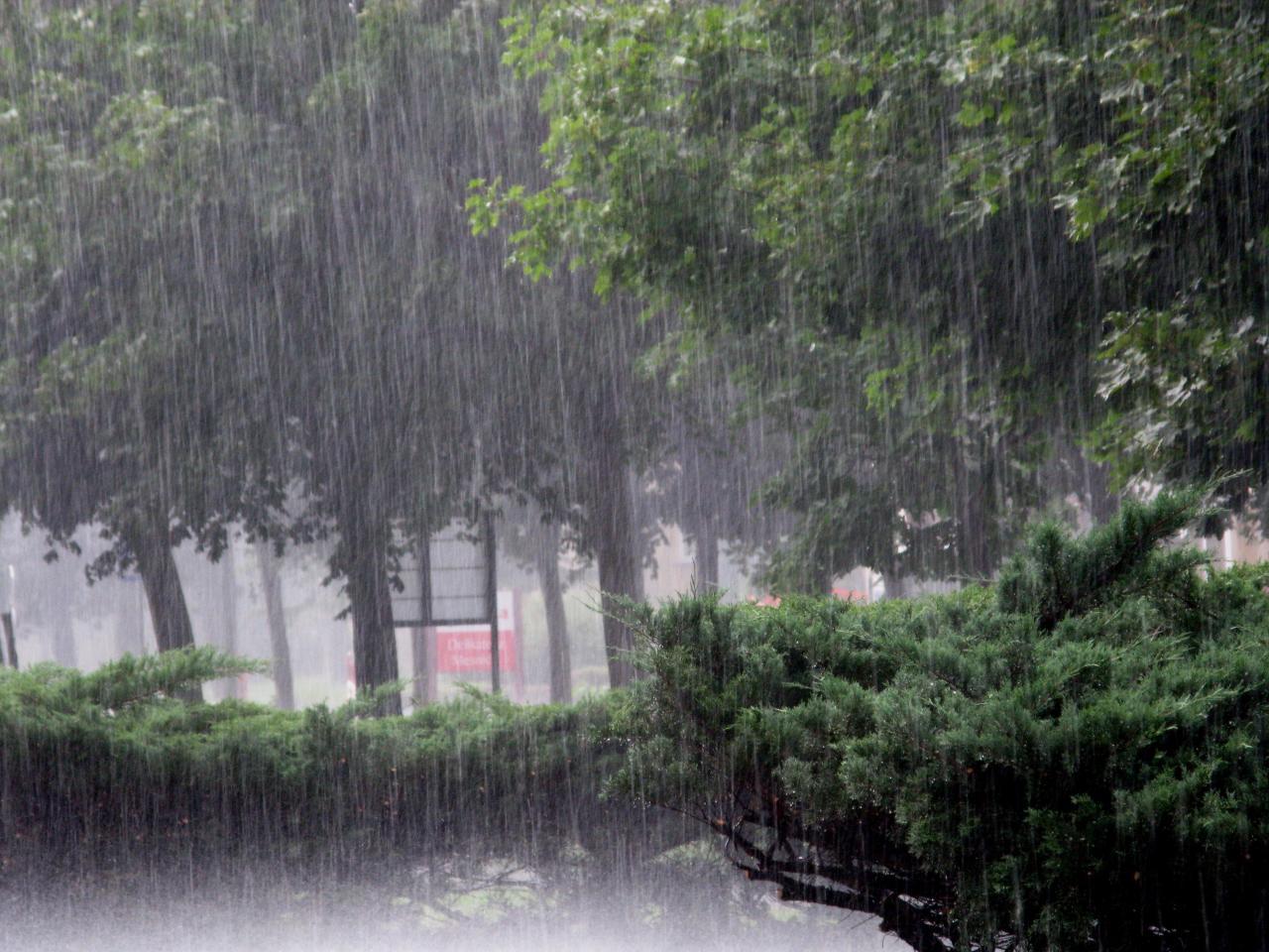 Ảnh trời mưa rào đẹp