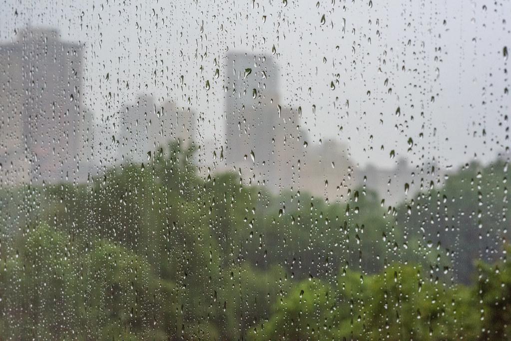 Hình ảnh mưa bên cửa sổ đẹp
