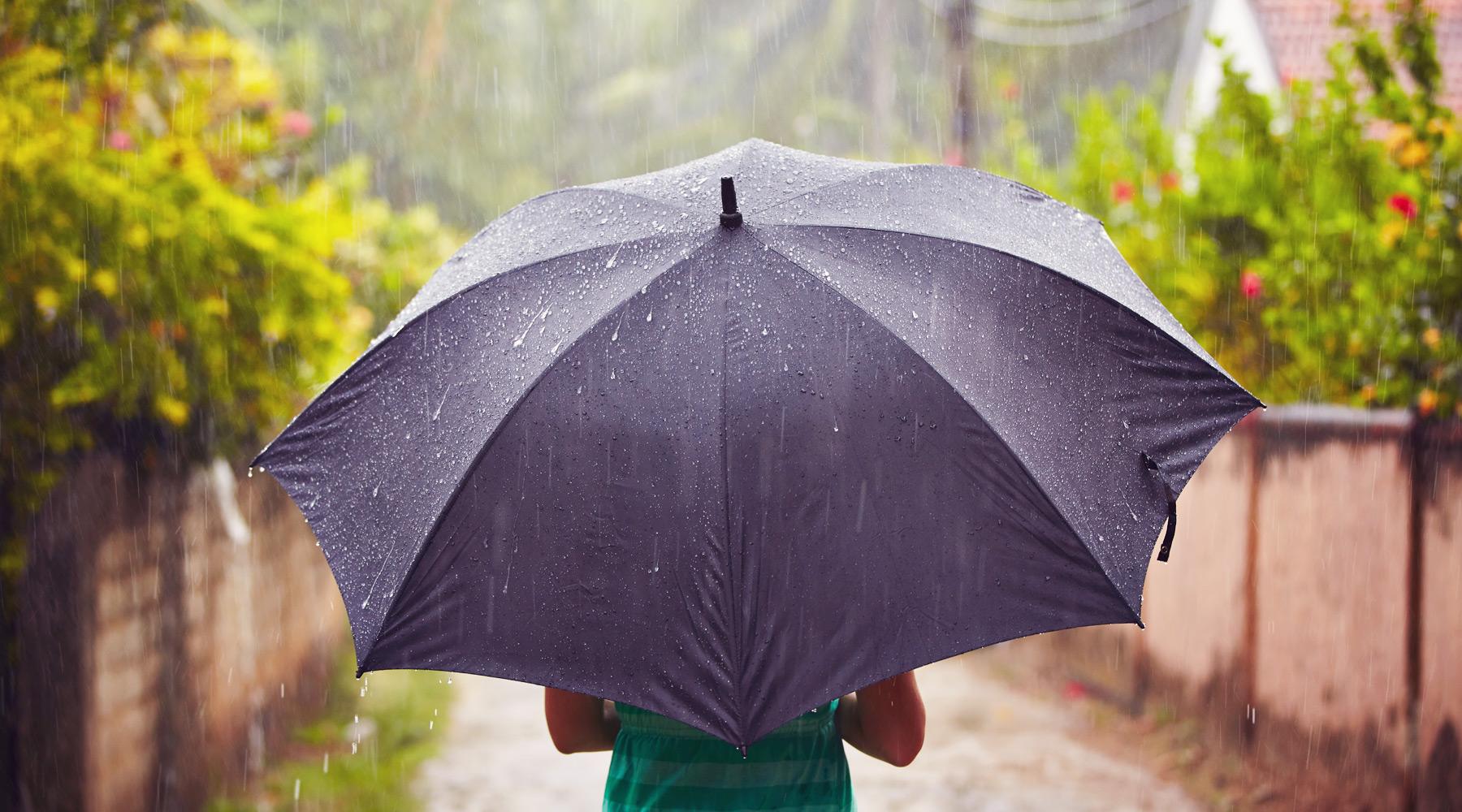 Hình ảnh trời mưa đẹp