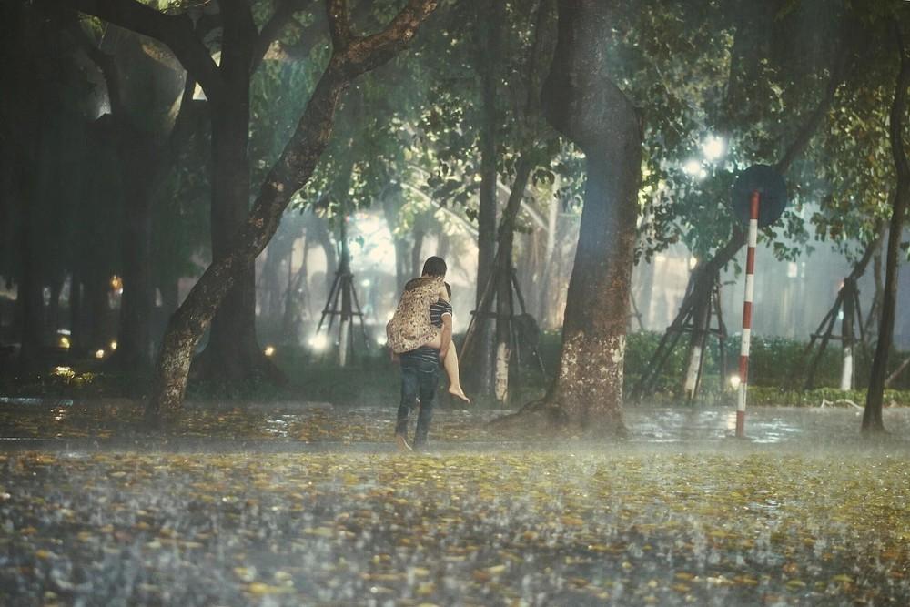 Hình ảnh trời mưa lãng mạn, đẹp