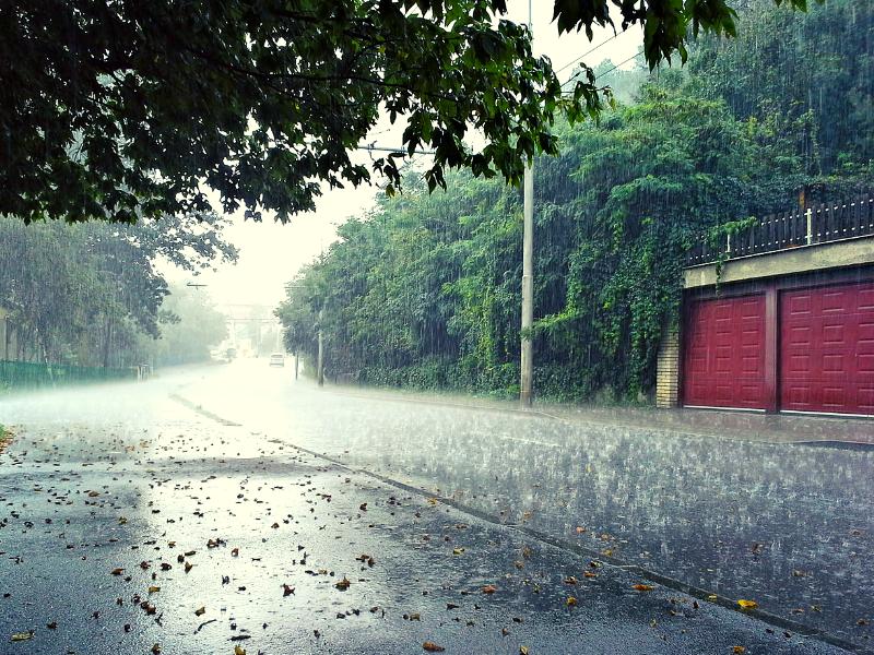 Hình ảnh trời mưa rào đẹp