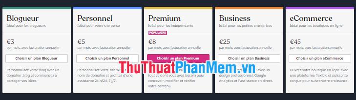So sánh về giá cả và chi phí - wordpress