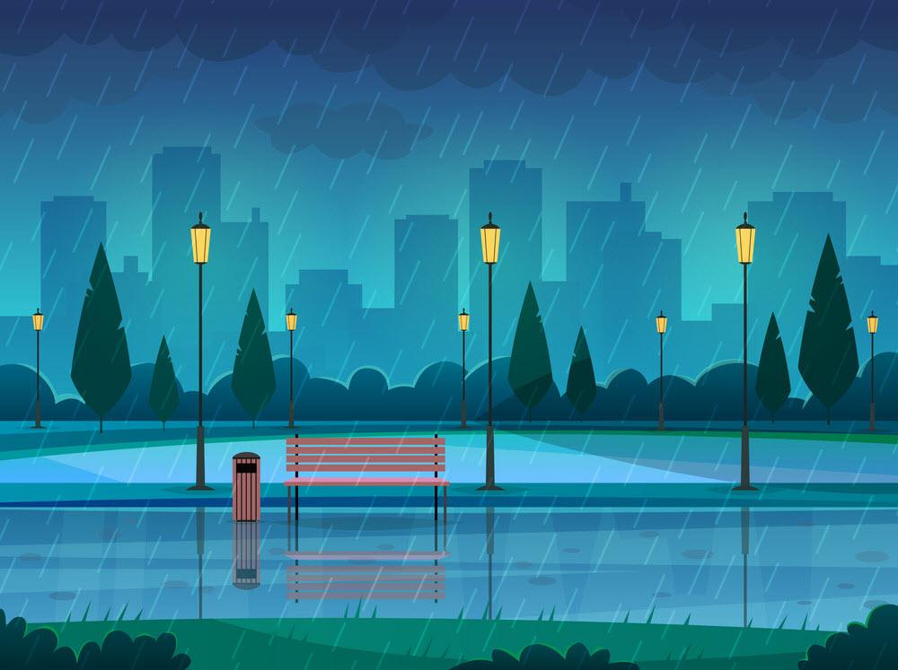 Trời mưa