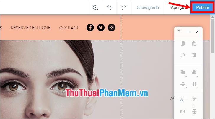 Xuất bản trang web của bạn