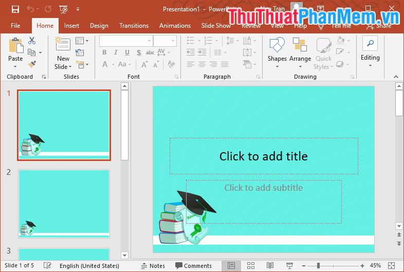 Mẫu Template PowerPoint đẹp số 14